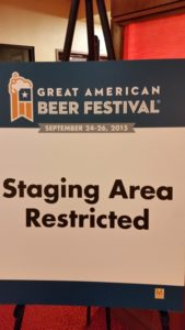 Welcome to the staging area, where the judging begins.